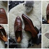 Натуральные кожаные туфли Англия,р-р 43