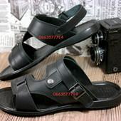 Натуральная кожа Отличные мужские сандалии-шлепки, трансформеры. Качественная обувь