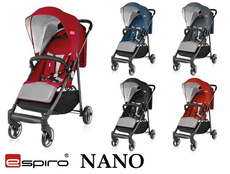 Новинка 2017 Espiro Nano - легкая прогулочная коляска (Эспиро Нано) фото №1