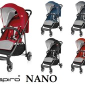 Новинка 2017 Espiro Nano - легкая прогулочная коляска (Эспиро Нано)