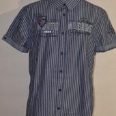 Рубашка с коротким рукавом от Takko! размер М