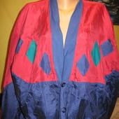 Курточка шёлковая,мужская,р.52-54.