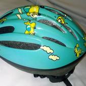 Фирменный шлем в отличном состоянии с регулировкой ог 47-53 см