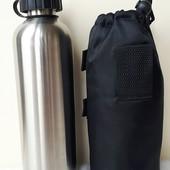 Спортивная метталическая бутылочка тара Vattenfall