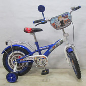 Велосипед Tilly Полицейский 14'' T-21425 blue + white