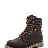 Тёплые высокие кожаные ботинки тимберленды Airbox Распродажа!