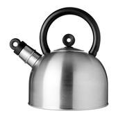 Чайник, нержавеющ сталь, черный, 2 л ikea vattentat икеа 202.395.95