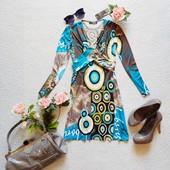 Новое стильное платье jane norman в принт яркий рисунок