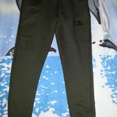 Штаны ( теплые, цвет оливковый) 46-48