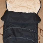 Спальный мешок, конверт, чехол на ножки в коляску Hauck