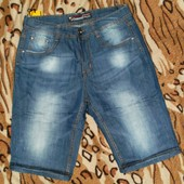 шорты джинсовы мужские 32. 33. 34р выбор модели
