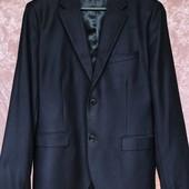 Темный Пиджак сине-фиолетовый H&M оригинал в школу