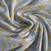 Плед-пеленка двойная (флис+трикотаж)