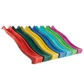 Гірка дитяча пластикова Гірка-спуск хвиля 3 м довжини Водяна Гірка