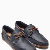 Шкіряні мокасіни (туфлі) NEXT розм. 40 по 47 під замовлення