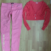 Tally Weijl літні джинси узкачі S-M