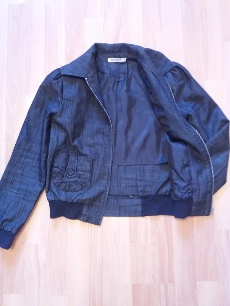 Летняя джинсовая ветровка женская Бренд Influence (инфлуэнс)  Моя,  не сєконд фото №1
