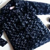 Новое стильное пальто Apparel черного цвета на девочку 4-5лет