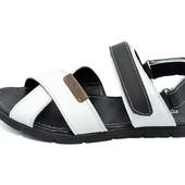 Сандали мужские Multi Shoes Roler KF2 белые (реплика)