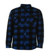 Стеганая тёплая рубашка на подкладке Lee Cooper Англия р. S