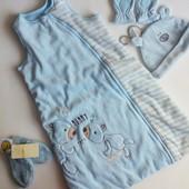 Детский спальный мешок- конверт Early days на 0-6мес. 68см