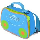Trunki термосумка ланчбокс сумка-холодильник голубая lunch bag backpack blue
