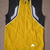 Adidas Response ClimaProof (S) спортивная беговая ветровка жилетка мужская