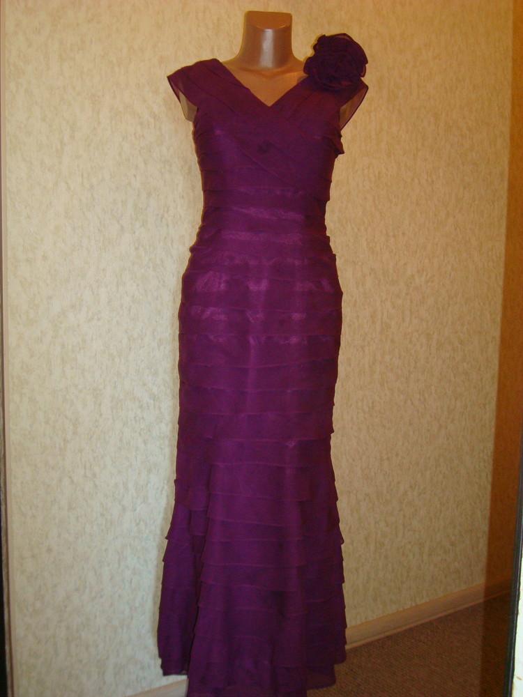 Платье вечернее размер 8 фото №1