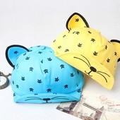 Солнцезащитная кепка панамка с ушками,2 расцв