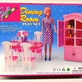 Кукольная мебель Глория Gloria 24011 Стильная красивая столовая Леди