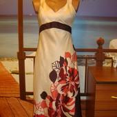 Платье\сарафан летнее\вискоза\шелк\в цветочный принт kaliko р.8-10