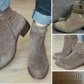 Ботинки Новые Оригинал нат/ Замша Minelli Португалия 37,38 размеры