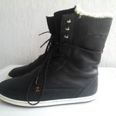 Кожаные зимние ботинки Hub 40,5р. Голландия
