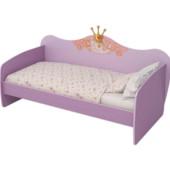 Кровать-Диван с матрасом и навесной полкой.