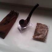 Эксклюзивная Трубка для курения +табак!