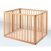 Детский деревяный складной манеж размер 100×100×70
