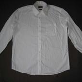 Charles Vogele (XXL/45/46) рубашка белая мужская натуральная