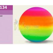 Мяч резиновый M01134 цвет радуга, 23 см, 60 г