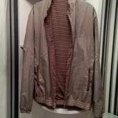 Стильная, мужская куртка, бомбер! Идеальное состояние! Одета раз!