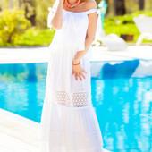 Не реально красивое, воздушно платье Шарлин