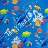 Детский развивающий коврик каремат киндер пол Океан