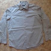 Рубашка 48-50 мужск. в полоску