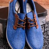 Стильные кеды с коричневой шнуровкой 13760-59