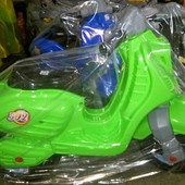 Скутер мопед ретро Орион 502 салатовый мотоцикл байк беговел велобег