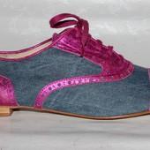Стильные кроссовки  39, 40 р Andre Испания кожа оригинал