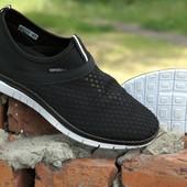 Ультралегкие и мегаудобные мужские кроссовки, пропускают воздух, анатомическая подошва.
