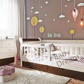 Кровать детская подростковая от 3 лет с бортиками Miss Secret