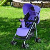 Детская коляска трость Bambi M 3458-9, фиолетовая ***