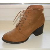 Ботинки р. 39 (24,6 см) New Look