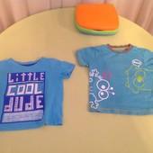 1-лот-1 шт Супер класненькие фирменние футболочки в отличном состоянии, на 1-1,5 год